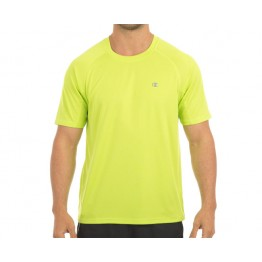 Champion Men's X­-Fitness Running Tee -­ Lime­