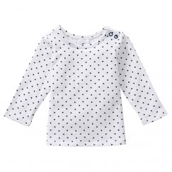 Unisex Long Sleeve Mini Geo Print Top