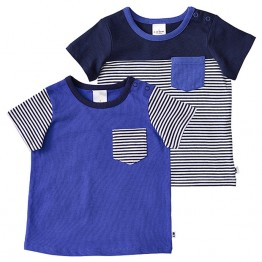 Boys' 2 Pack Of Short Sleeve T-Shirts