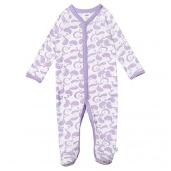 Unisex Whale Print Coverall
