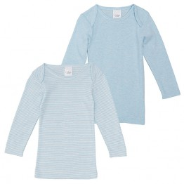 2 Pack Thermal Tops - Blue
