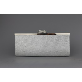Glitter Party Clutch - SILVER