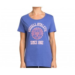 Russell Athletic Women's 02 Tee - Purple